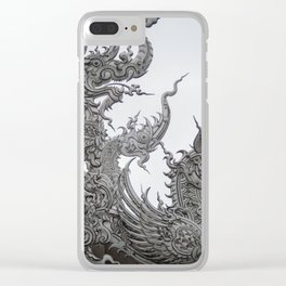 The White Temple - Thailand - 013 Clear iPhone Case