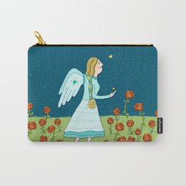 Angel Rose Carry-All Pouch