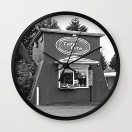 Coffee pot stand Wall Clock