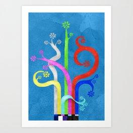 TV Magic Art Print