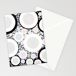 Pastel Rainbow Circles 2 Stationery Cards