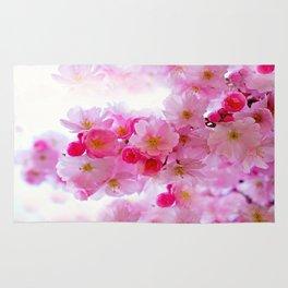 Cherry Blossom Tree So Pink Rug