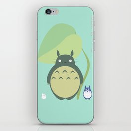 Totor0 and friends iPhone Skin