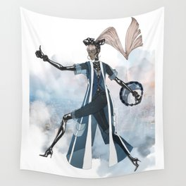Blue New York City Wall Tapestry