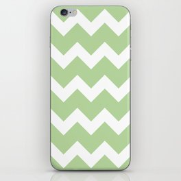 Chevron - Mint iPhone Skin