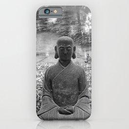 Sitting Buddha iPhone Case
