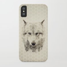 Wolf cover Slim Case iPhone X