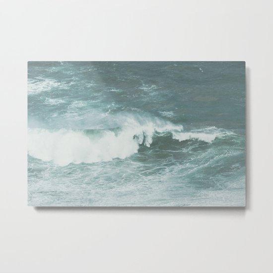 Faded sea Metal Print