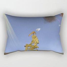 War Stars: Smokie out Rectangular Pillow