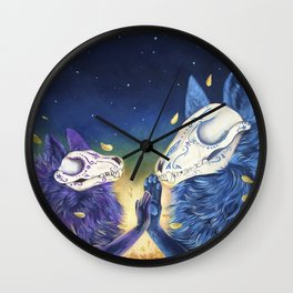 Day of the death Wall Clock