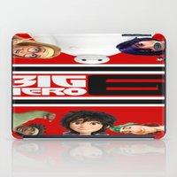 big hero 6 iPad Cases featuring BIG HERO 6, FILMS,MOVIE by ira gora