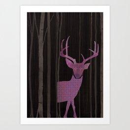 Hide me Art Print