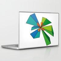 3d Laptop & iPad Skins featuring 3D by MeMRB