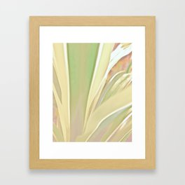 Grow, Body Flowing Out Of Spirit Framed Art Print