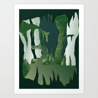 Shenmue - The Great Stone Pit Art Print