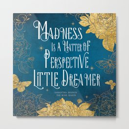 Little Dreamer - The Bone Season Metal Print