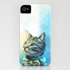 Handsome Cat iPhone (4, 4s) Slim Case