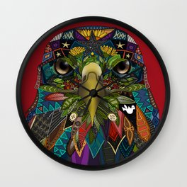 American Eagle red Wall Clock