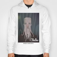 cthulhu Hoodies featuring cthulhu by Crooked Octopus