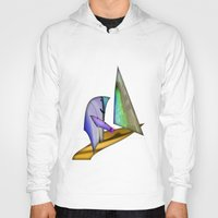 sailing Hoodies featuring Sailing by Digital-Art