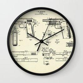 Firearm-1911 Wall Clock