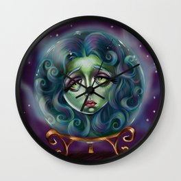 Madame Leota Wall Clock