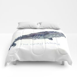 Gray Whale Comforters