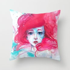 Ariel, The Little Mermaid Throw Pillow