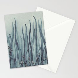 Green-Blue Grass Stationery Cards