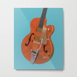 Gretsch Chet Atkins Guitar polygon art Metal Print