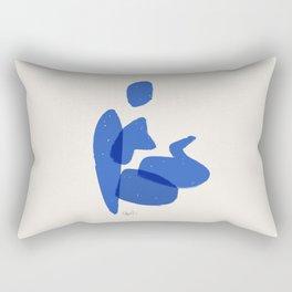 Bather 3 Rectangular Pillow