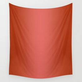 Red to Pastel Red Vertical Bilinear Gradient Wall Tapestry