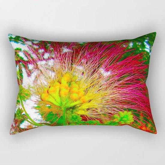 EXOTIC FLOWER Rectangular Pillow
