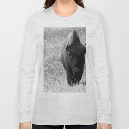 Bison - Monochrom Long Sleeve T-shirt