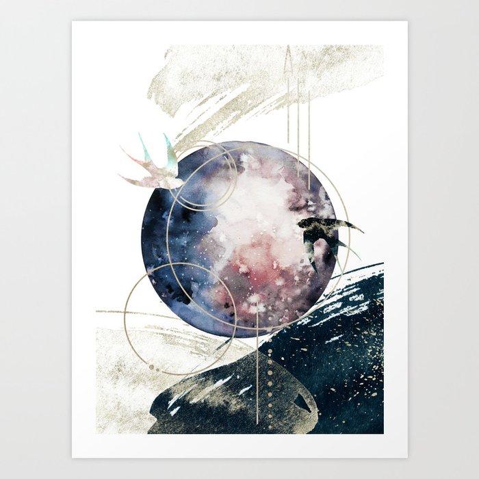 Space Operetta Art Print