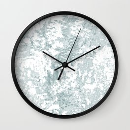 Country Blue and White Wall Clock