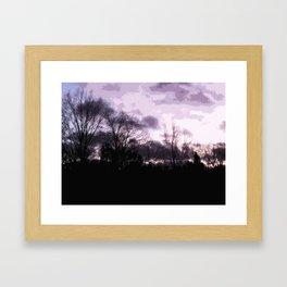 Sky;lines Framed Art Print