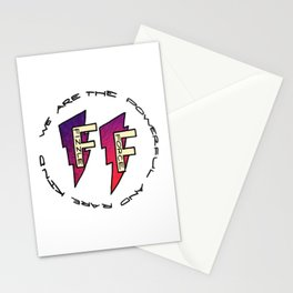 Fizzle Force Logo Stationery Cards