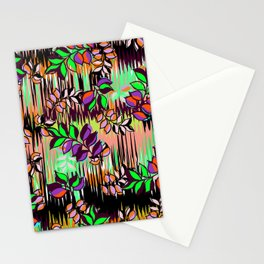 High Definition Leaves Stationery Cards