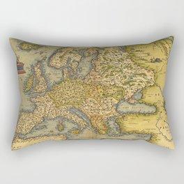 Vintage map of Europe Rectangular Pillow