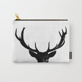 Black Deer Silhouette A273 Carry-All Pouch