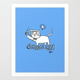 More cat-alyst! Art Print