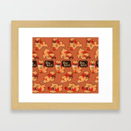 Dog Lord Framed Art Print