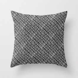Linear Dash Throw Pillow