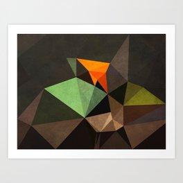 Jade Mandarin Art Print