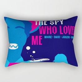 James Bond Golden Era Series :: The Spy Who Loved Me Rectangular Pillow