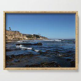 The Cliffs of Pismo Beach Serving Tray