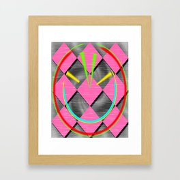 colored abstraction Framed Art Print