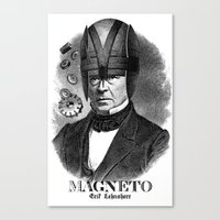 magneto Canvas Prints featuring MAGNETO by DIVIDUS