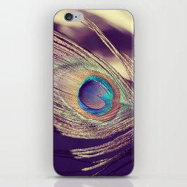 Proud as a peacock iPhone Skin